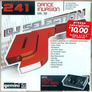 DJ Selection Vol-241 Dance Invasion Part 59 (2009) скачать бесплатно